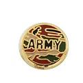 Army - Enamel Charm